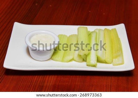 Celery sticks - stock photo