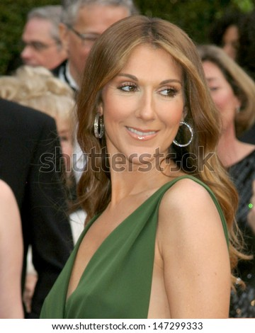 Celine Dion at the 79th Annual Academy Awards Kodak Theater  Hollywood & Highland Hollywood, CA February 25, 2007 - stock photo
