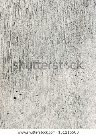 Cement a wall plaster - stock photo