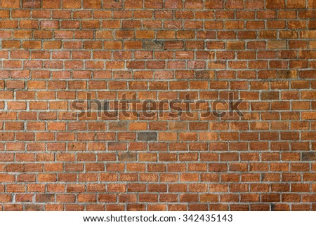 cement and brick wall texture background, material of industry building construction - stock photo