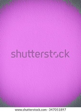 Cement wall backgrounds with vignette - stock photo