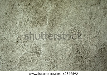 Cement Wall Grey - stock photo