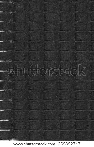 cement wall layers - stock photo