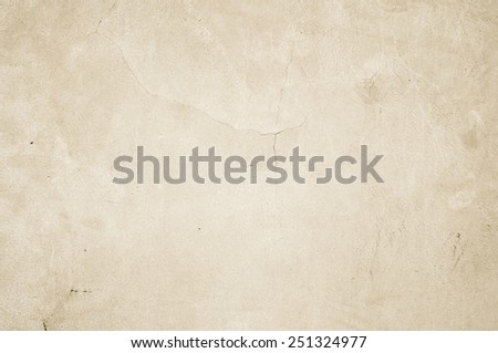 cement wall - texture  cracks background ancient stone smooth interior construction - stock photo