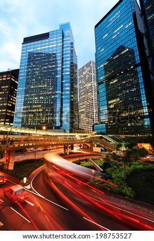 Central Hong Kong - stock photo