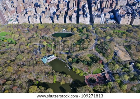 Central Park, New York - stock photo