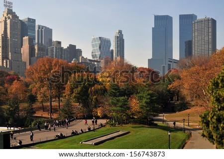 Central park, new york - stock photo