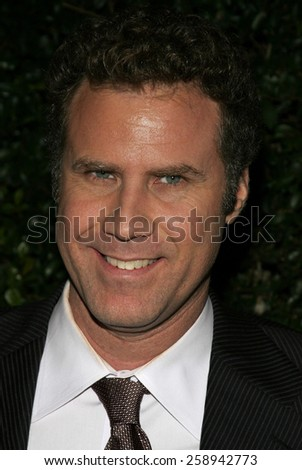 CENTURY CITY, CALIFORNIA. December 12, 2005. Will Ferrell attends the Producers World Premiere at the Westfield AMC Theatres in Century City, California United States. - stock photo