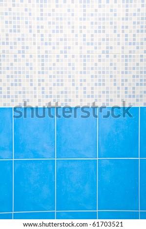 Ceramic Wall - stock photo