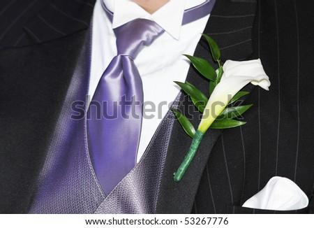 ceremony suit - stock photo