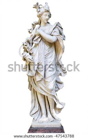 Ceres. Sculptor T.Kvellinus, France, 1660 year - stock photo