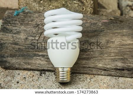 CFL Lamp - stock photo