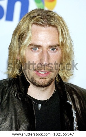 Chad Kroeger of Nickelback at Clive Davis Pre-Grammy Party, Beverly Hilton Hotel, Los Angeles, CA, February 09, 2008 - stock photo