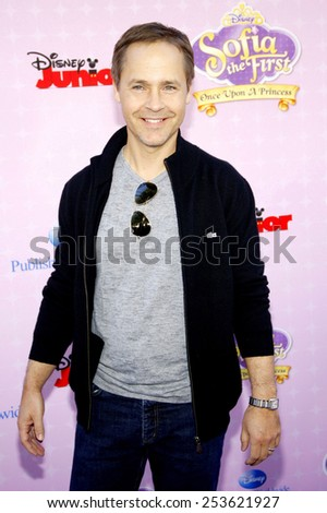 """Chad Lowe at the Los Angeles premiere of """"Sofia the First: Once Upon a Princess"""" held at the Disney Studios in Los Angeles, United States on November 10, 2012. - stock photo"""