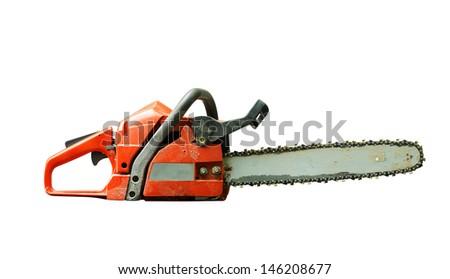 Chain saw - stock photo