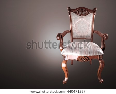 Chair. - stock photo