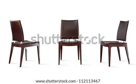 chair composition - stock photo