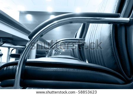 Chairs in Meeting room - stock photo