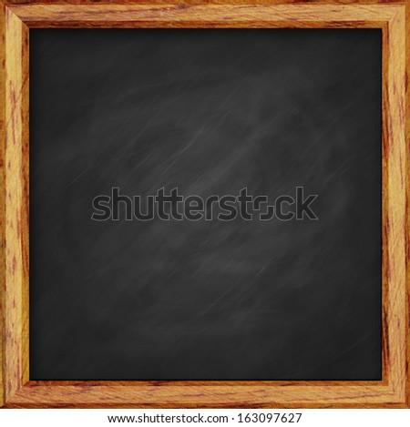 Chalk Board. - stock photo