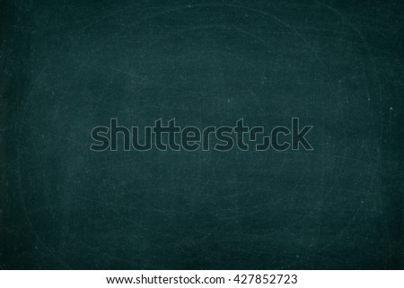 Chalk rubbed out on blackboard for background. Chalkboard Texture for background education or add text. - stock photo