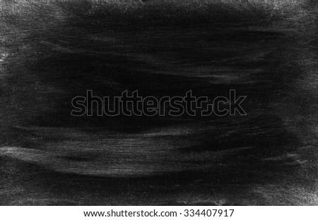 Chalkboard. Blackboard. Black background - stock photo