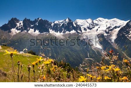 Chamonix - stock photo