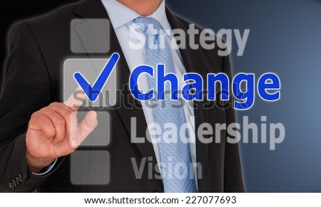 Change - Business Concept - stock photo