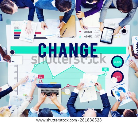 Change Future Innovation Strategy Marketing Business Concept - stock photo
