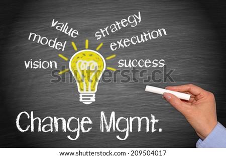Change Management - stock photo