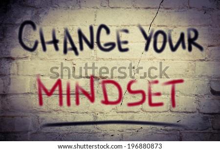 Change Your Mindset Concept - stock photo