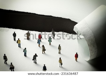 Changes in the environment - stock photo