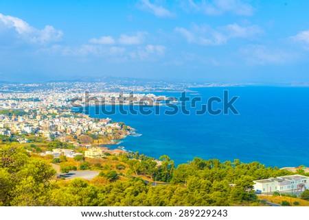 Chania, panoramic view - stock photo