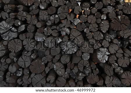 charcoal - stock photo