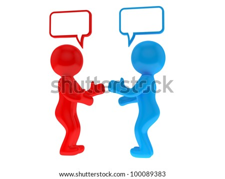 Chat concept - stock photo