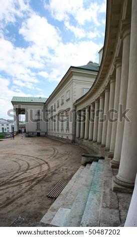 Chateau - stock photo