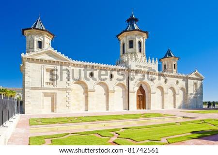 Chateau Cos D'Estournel, Bordeaux Region, France - stock photo