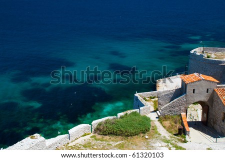 Chateau d'If, Marseille , France - stock photo