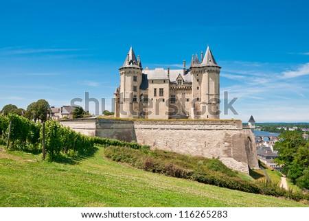 Chateau de Saumur, Loire Valley, France - stock photo
