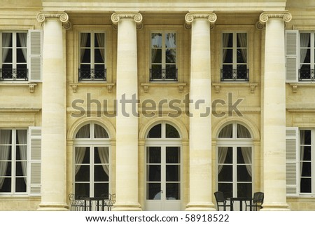 Chateau Margaux - stock photo