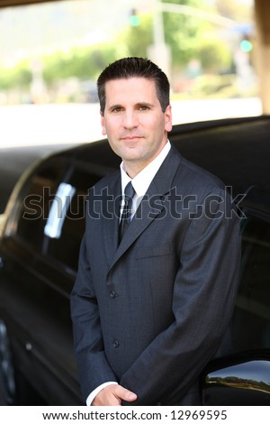 Chauffeur - stock photo