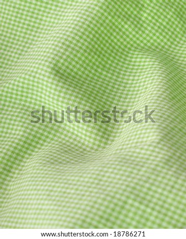 Checkered fabric closeup - series - pink. Good for background. More fabrics in my port. - stock photo