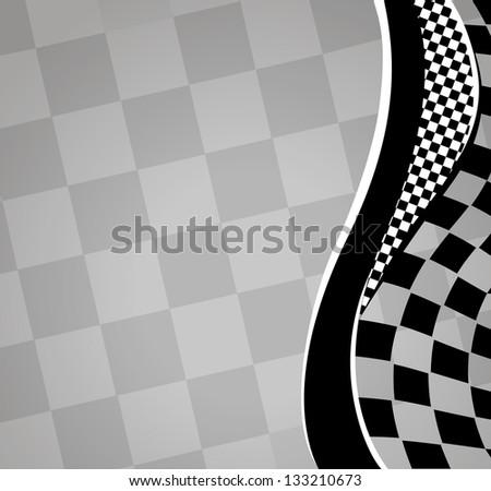 checkered sport racing background. jpg version - stock photo