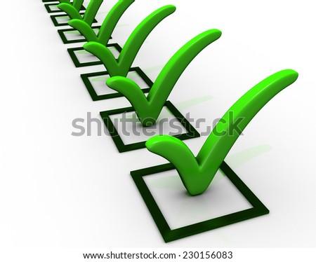 Checklist Icon - stock photo