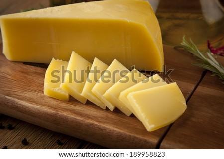 cheddar cheese concept photo - stock photo