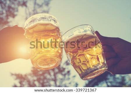 Cheers my friend! - stock photo