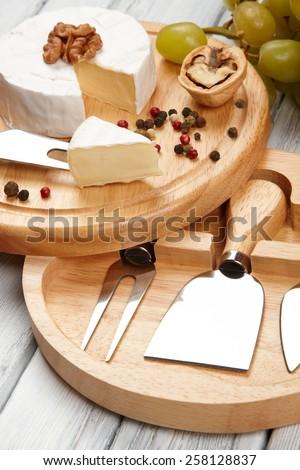 cheese board - stock photo