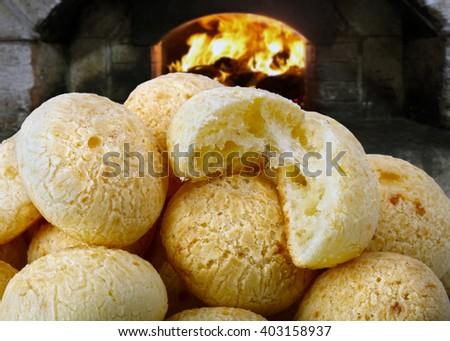Cheese bread - stock photo