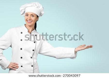 Chef, Baker, Women. - stock photo