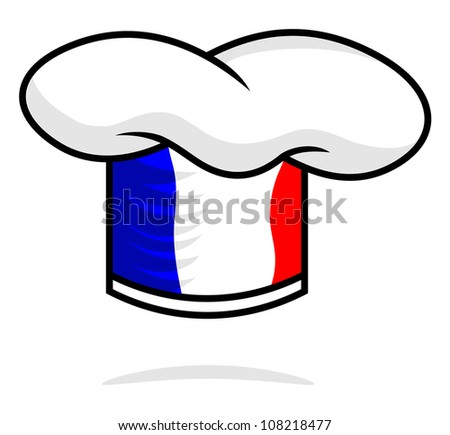 chef hat - stock photo