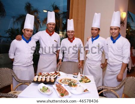 chefs - stock photo